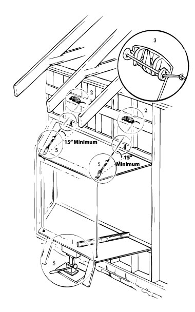 How To Install Cable Supports Lang Exterior Windows And
