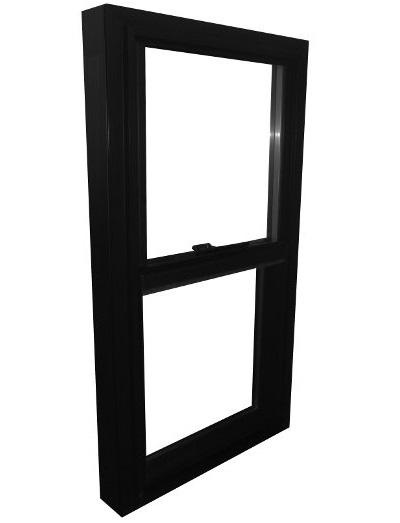 + Black Vinyl Double Hung Window