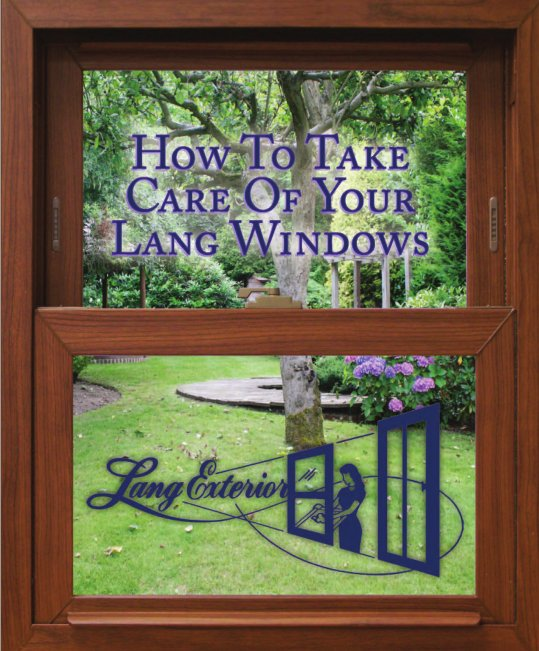PDF: How to Take Care of Your Lang Windows