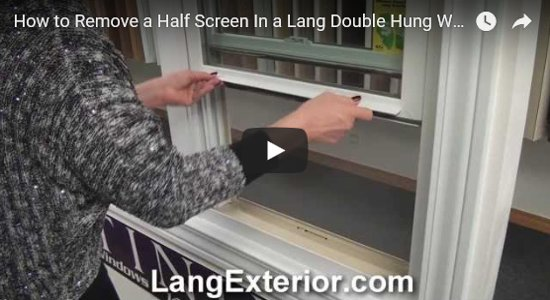 How To Videos For Lang Windows And Patio Doors